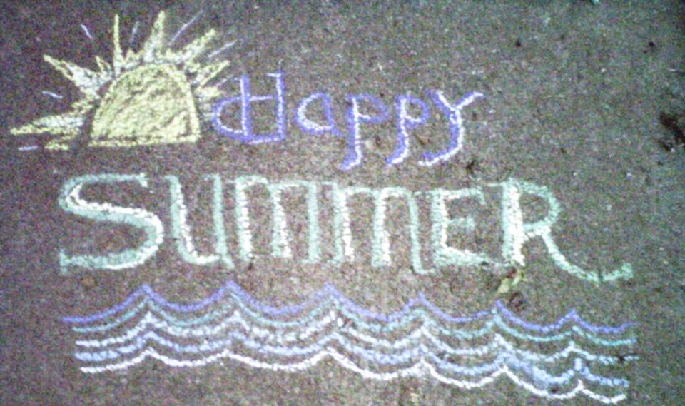VISIONary Toys: Sidewalk Chalk!