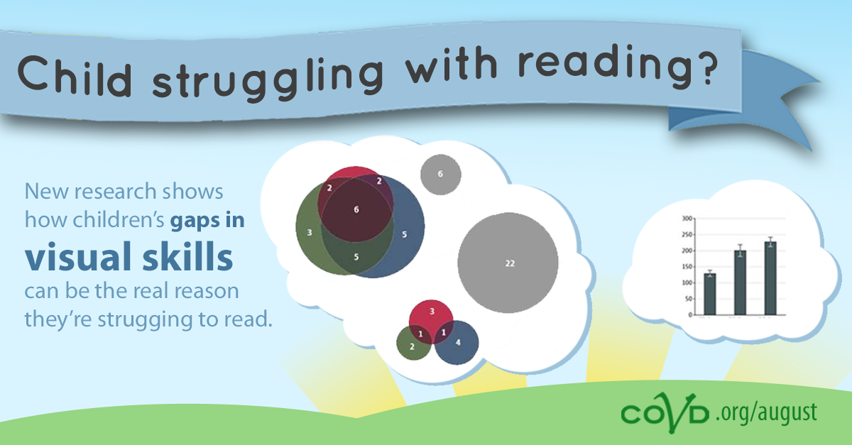 New research shows why visual skills are so critical for reading
