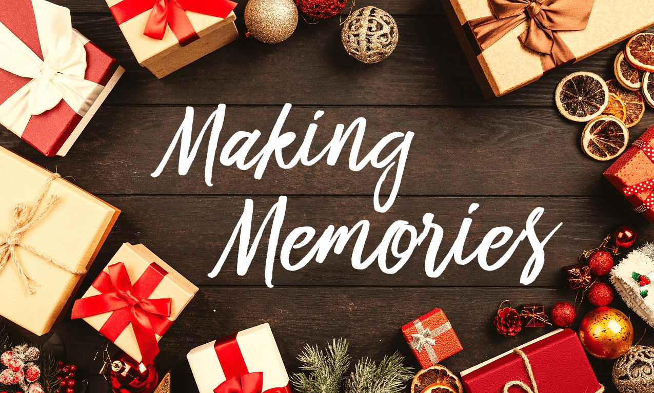 Holiday Gifts–Making Memories