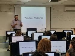 Dr. Robert Lederman is making vision therapy visible in Israel