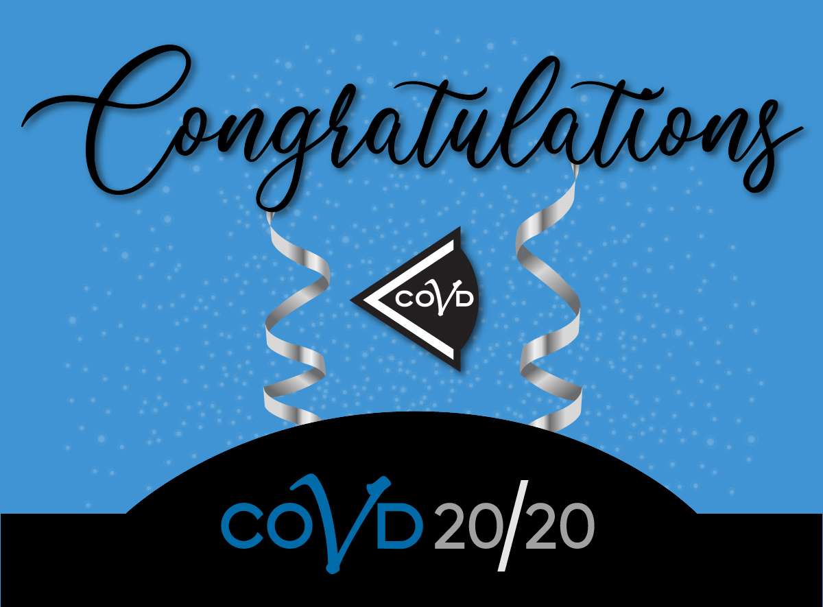 Congratulate COVD's 2020 Award Winners